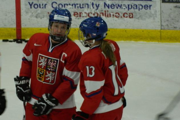 Alena Polenska Leader for Czech Squad Making Debut at IIHF Worlds