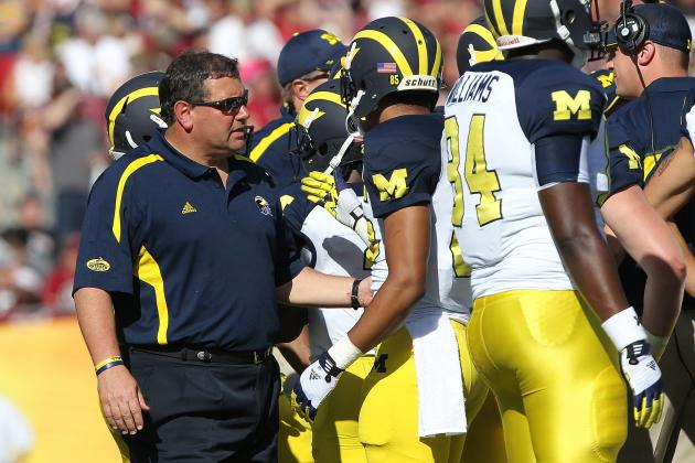 Michigan Football: A 10-Win 2013 Could Be Key for Wolverines Coach Brady Hoke