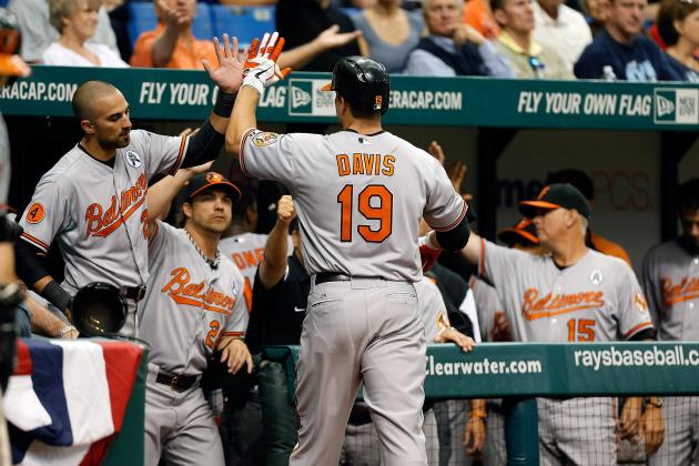 Orioles Win Opening Series in Tampa, Davis on Fire, Roberts Injured