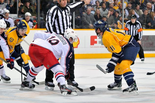 NHL Gamecast: Columbus vs. Nashville