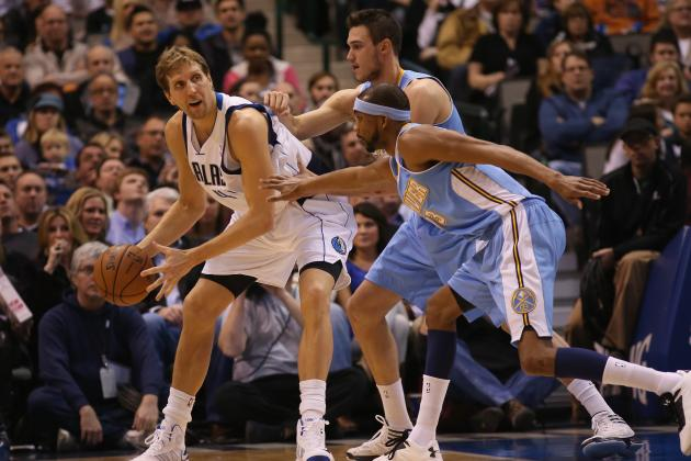 Nuggets Beat Mavs 95-94