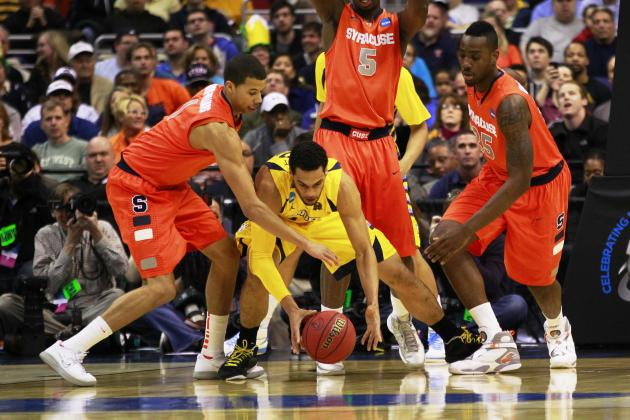 Syracuse vs. Michigan: Zone Defense of Orange Will Smother Wolverines
