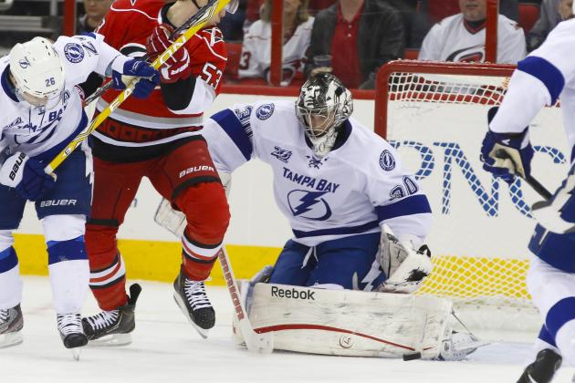 Lightning Beat Hurricanes 5-0