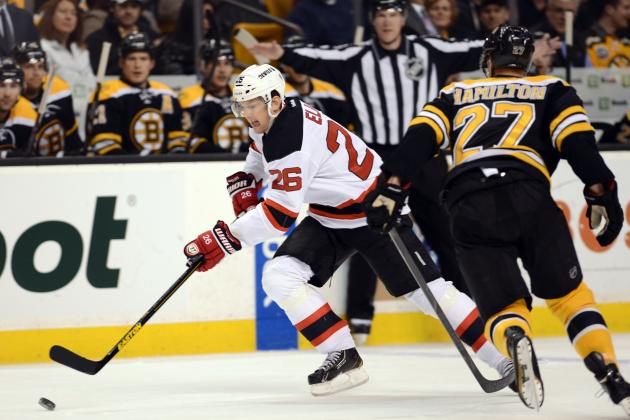 Bruins 1, Devils 0