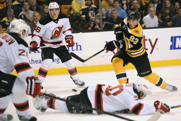 New Jersey Devils Drop Fifth Straight, Shutout by Boston Bruins 1-0