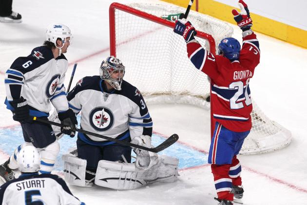 Canadiens 4, Jets 1