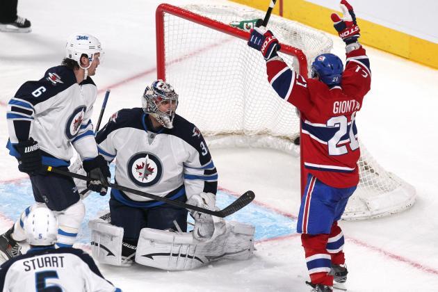 Canadiens 4, Jets 1