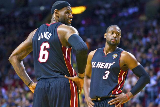 Extended Rest Will Only Help Heat Stars LeBron James and Dwyane Wade in Playoffs