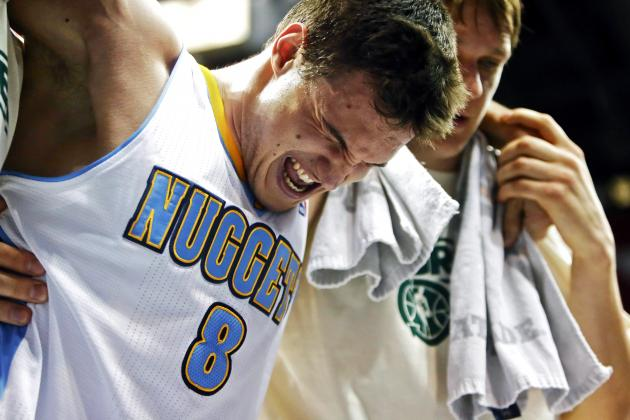 Danilo Gallinari Injury: Updates on Nuggets Swingman's Knee