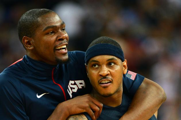 Can Carmelo Anthony End Kevin Durant's Monopoly on Scoring Titles?