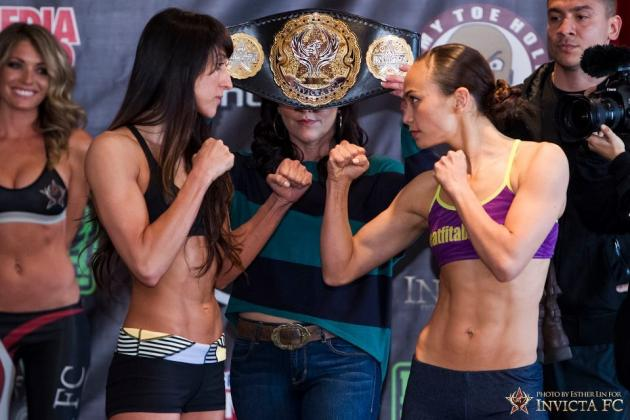 Invicta FC 5 Live Results and Play-by-Play