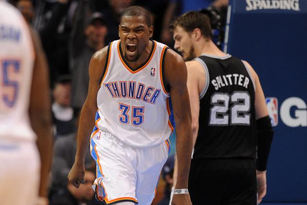 Thunder Victory over Spurs Is Start of Interesting Trilogy