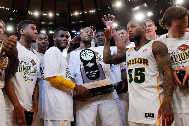 Baylor Becomes First Big 12 Team to Win the NIT Championship
