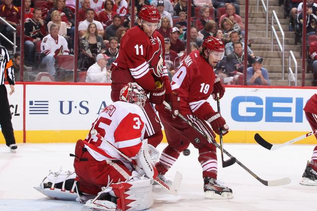 Phoenix Coyotes Hope Wins over Kings and Red Wings Help Make a Playoff Push