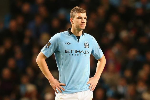 Dzeko: We May Be 15 Points Behind, but This Derby Is Important as Ever