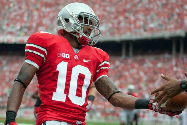 Ohio State Football: Wide Receivers Gaining Confidence in Year 2 Under Meyer