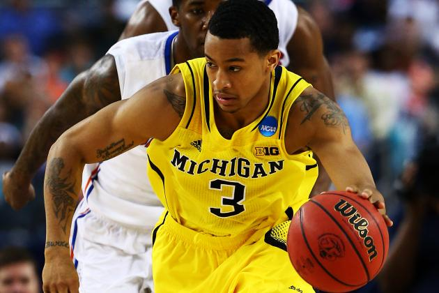 Trey Burke Adds Oscar Robertson Award to Trophy Case