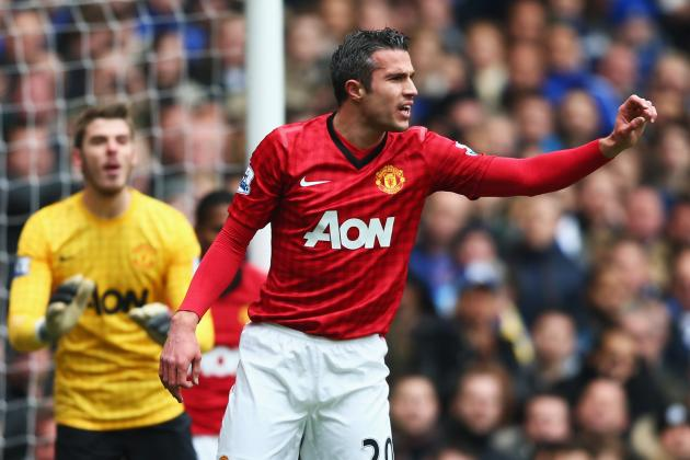 Robin Van Persie's Lack of Goals Is Not the Issue It's Being Presented as
