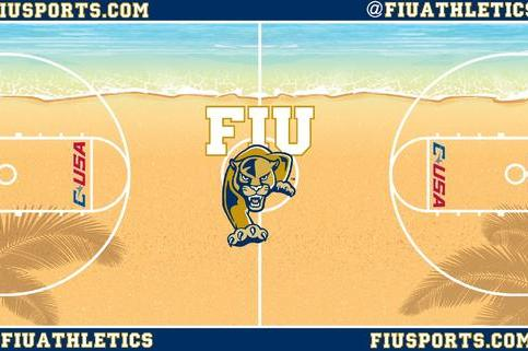 FIU Green-Lights Ridiculous New Beach-Themed Basketball Court