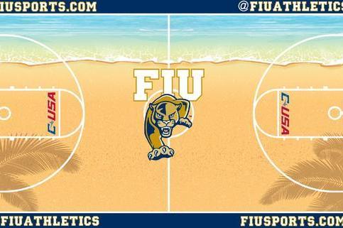 FIU Green-Lights Ridiculous New Beach-Themed Basketball Court