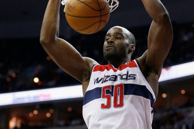 Wizards' Emeka Okafor, Trevor Ariza Both Intend to Complete Contracts