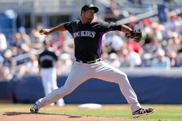 Rockies' Edgmer Escalona, Juan Nicasio Have Dust-Up During Warmups