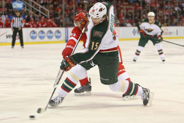 Wild's Heatley out Indefinitely