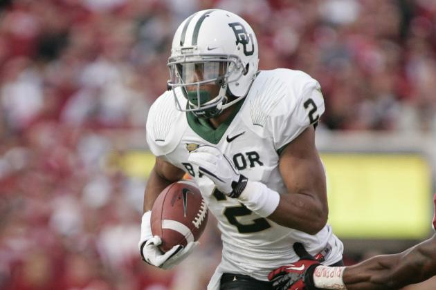 Baylor Wide Receiver Has Hopes of Playing for His Hometown Team