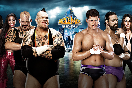 WWE WrestleMania XXIX: Mixed Tag Team Match the Latest in a Line of Them