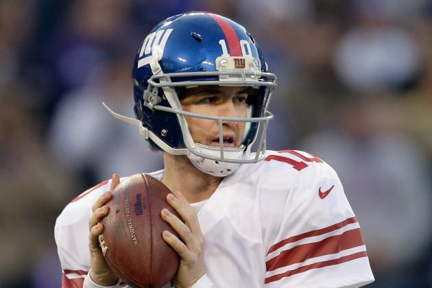 Giants Get Quarterback Tests in Preseason