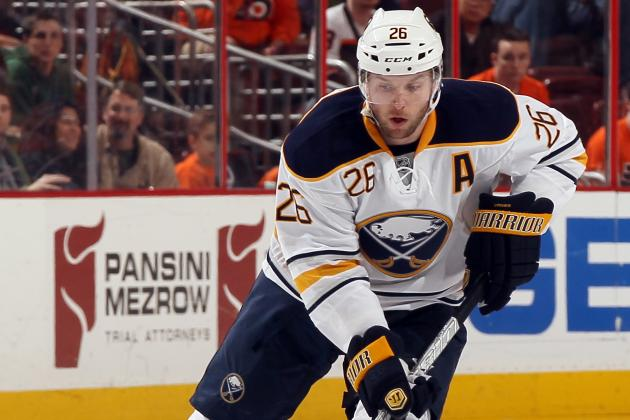 Vanek to Miss 5th Straight Game, Gerbe to Top Line