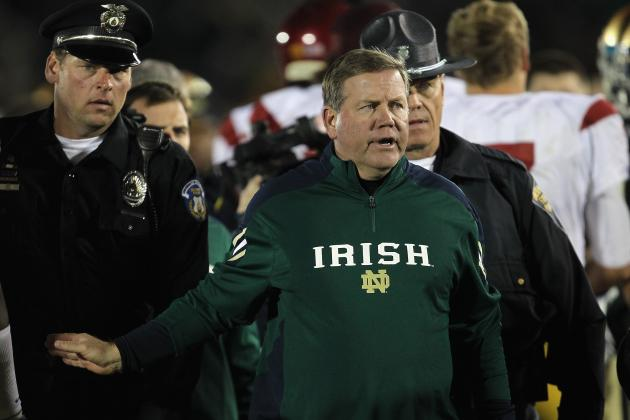 How Notre Dame's Running Game Has Evolved Under Brian Kelly