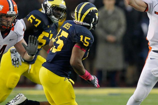 LB James Ross Just Too Good to Keep out of Michigan Lineup