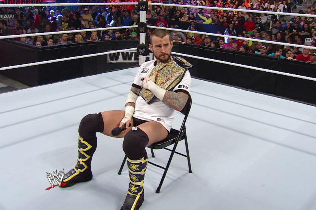 CM Punk Clearly Disappointed to Not Be Headlining WrestleMania