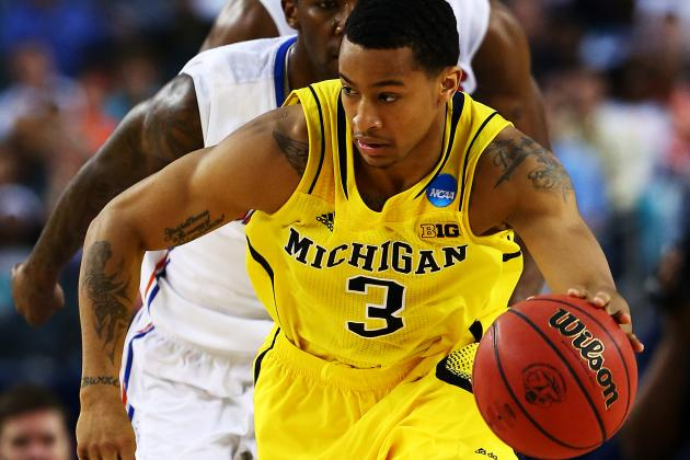 Michigan's Trey Burke Adds Wooden Award to Collection