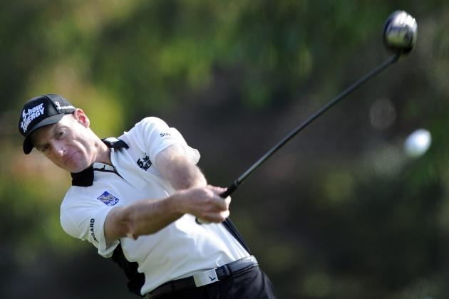 Jim Furyk Experiments with Two Drivers in Masters Preparation