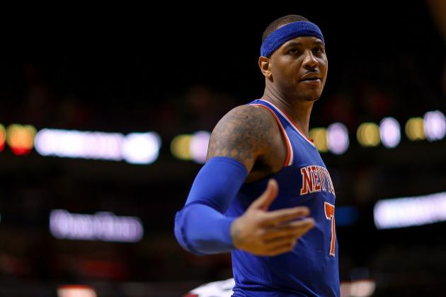 Carmelo Anthony Tops Forbes' List of NBA's Most Overpaid Players