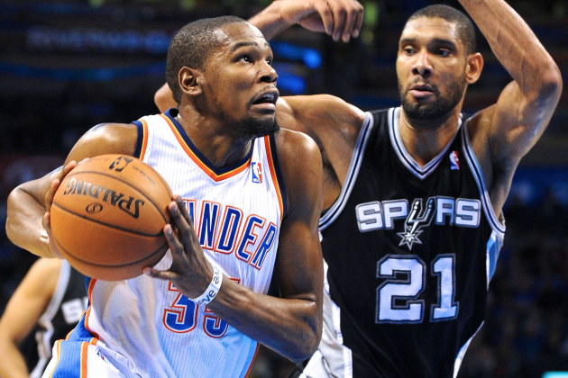 San Antonio Spurs vs. OKC Thunder Rematch Destined for Conference Finals