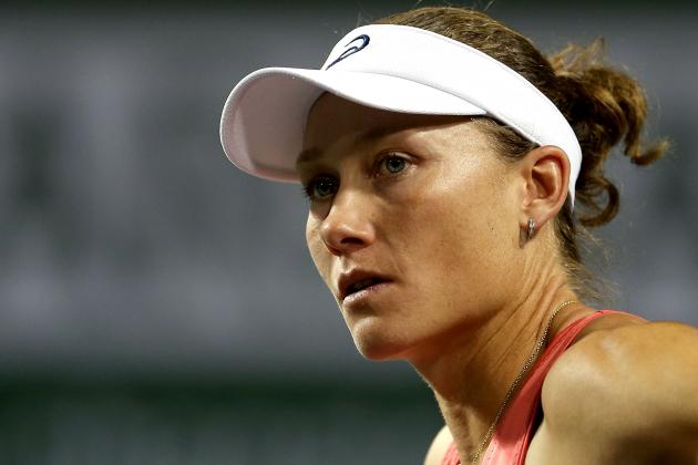 Stosur Retires, Williams Sisters' Matches Postponed in Charleston