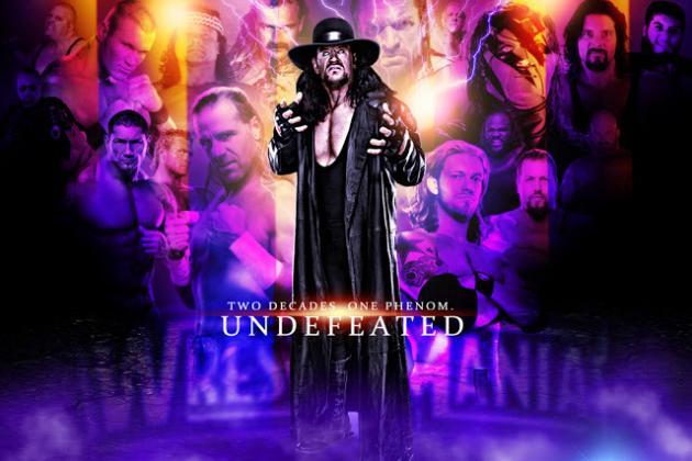 WrestleMania Revolution: Capturing the Essence of the Undertaker