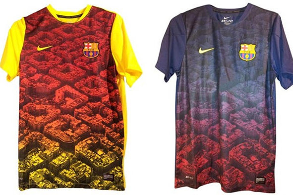 Barca's Possible New Training Unis
