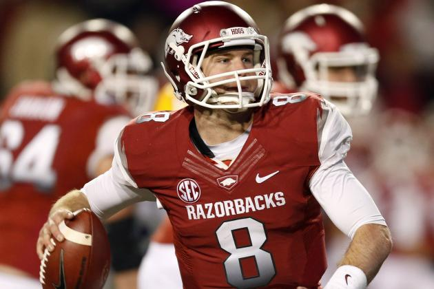 Arkansas' Tyler Wilson Falling Draft Stock May Be Bobby Petrino's Fault