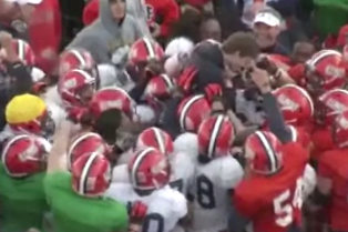 VIDEO: Students Kick Field Goals at Illinois Spring Practice