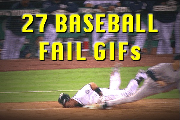27 Amazing Baseball Fail GIFs