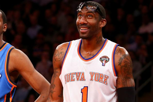 Amar'e Stoudemire Pays for 1,000 Ware Signs