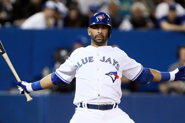Jose Bautista Is out of the Lineup Tonight