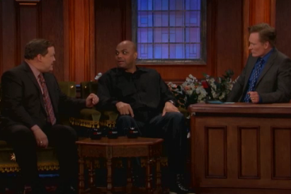 Charles Barkley Makes Appearance on Conan, Calls Shaq