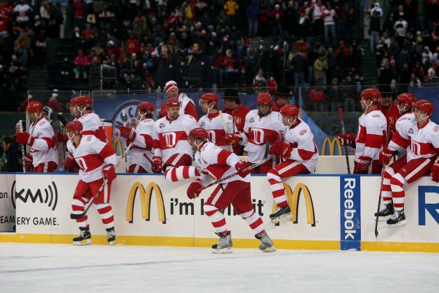 Winter Classic Jerseys, Other Details Revealed Sunday at Joe Louis Arena