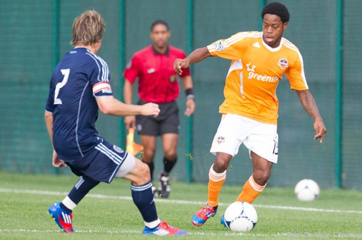 Dynamo Loan Alex Dixon to Tampa Bay Rowdies