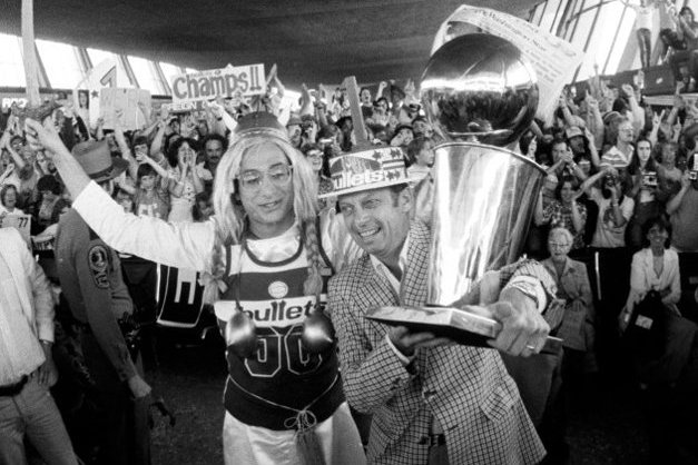 Bullets' 1978 Championship Trophy Sat in an Employee's Closet for Years